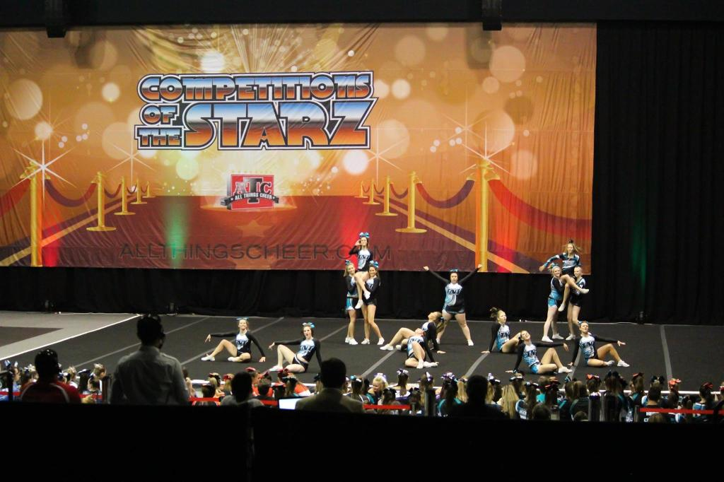 Photographer: Ellie Griffiths TNT All Stars at competition All Things Cheer.