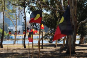 Heirrison Island has become the focus of opposition to plans to shut remote  Aboriginal communities