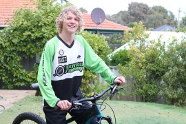Upcoming junior mountain biker takes his passion to the next level