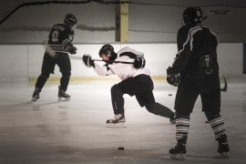 Educating Young Players To Knock Out Concussion On Ice