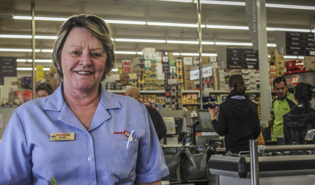 Not worried - Pam Kolle from Myaree IGA