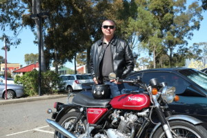 John rode last years DGR as a survivor of prostate cancer