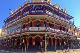 Purple fever flooding through Fremantle businesses