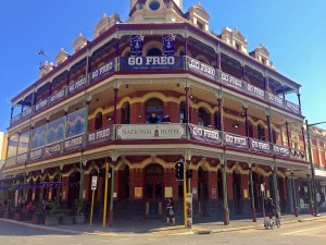 Owners of the National Hotel in Fremantle enthusiastic for the chance of a Dockers' grand final.