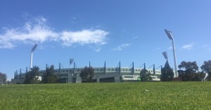 Domain Stadium awaits the preliminary finals this weekend.