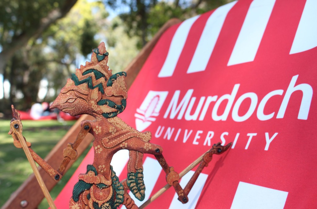 Students will learn the culture behind this shadow puppet through Murdoch's Indonesian language elective. Photo by: Madura McCormack