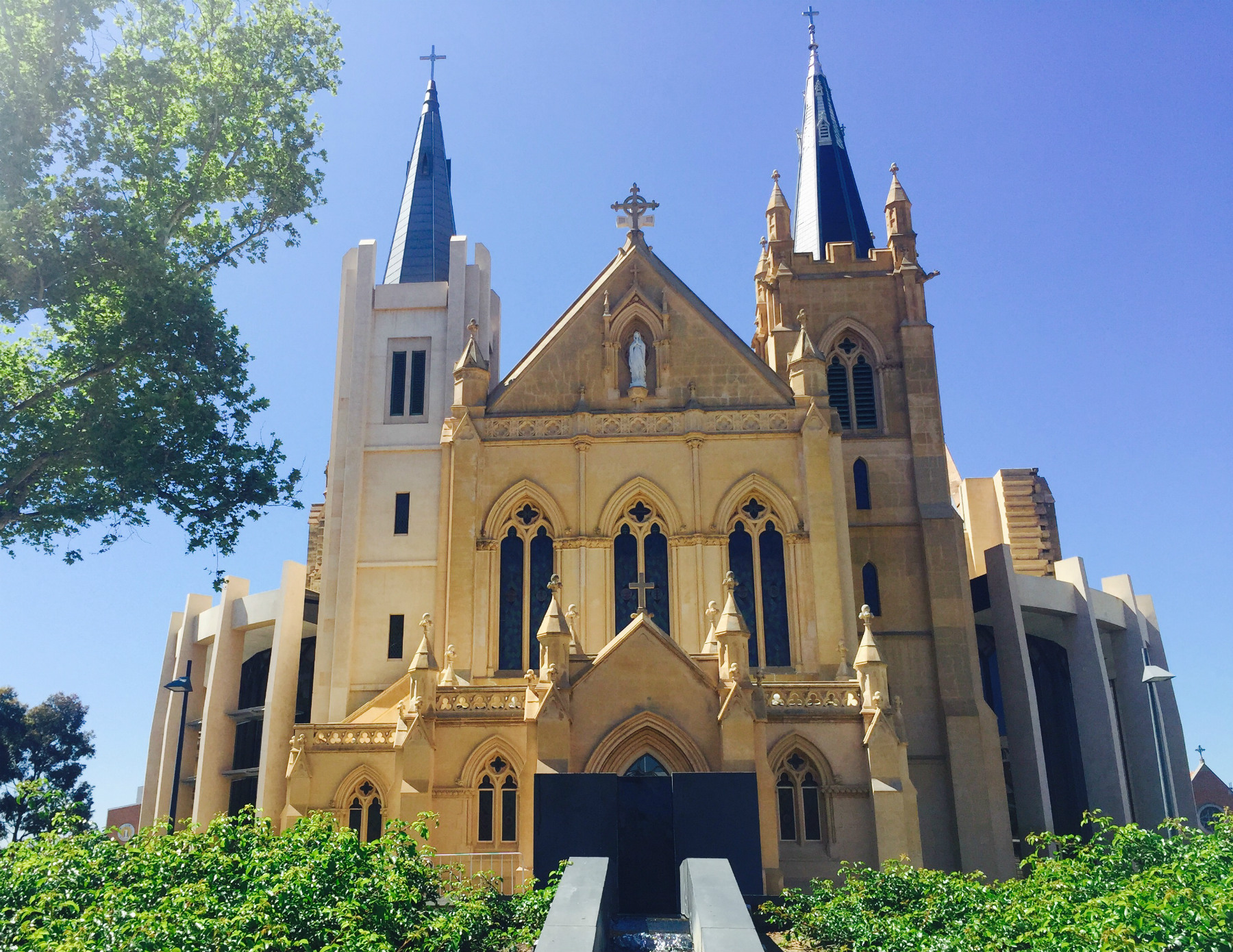 St Mary's Cathedral in the City of Perth
