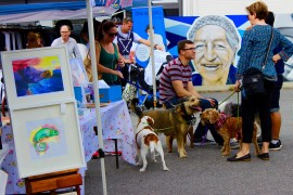 'Dogtober' a success at Beaufort Street Art Market