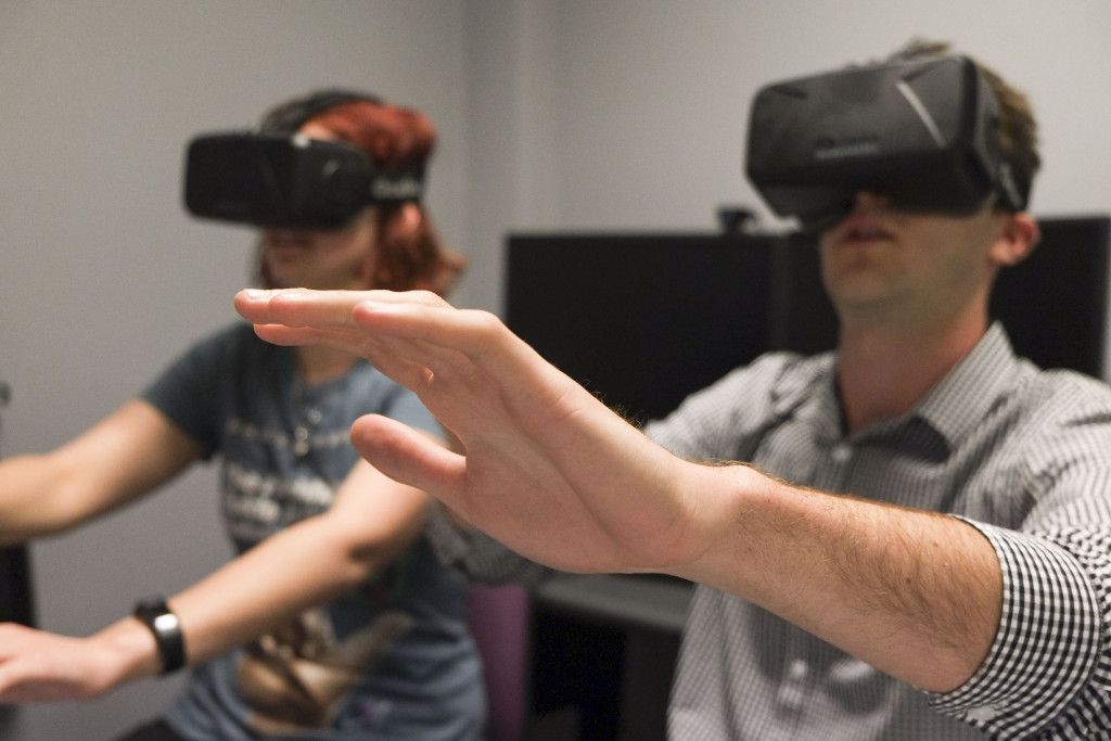 Real enough to touch? Virtual reality, like those created by the Oculus create immersive experiences, and this is being used for applications outside of gaming.