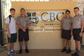 CBC students sacrifice holidays to help underprivileged