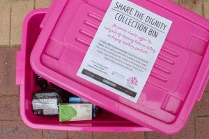 Donating for dignity: Students at Notre Dame donate sanitary items to homeless women