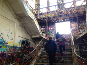 Attribution - Sara D'uva. The abandoned South Fremantle power station is a hotspot for vandals.