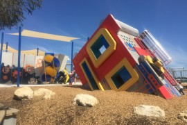 Smaller blocks in southern suburbs lead to larger playgrounds