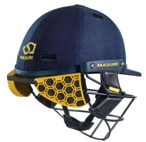 New helmet design to help protect the batters neck.