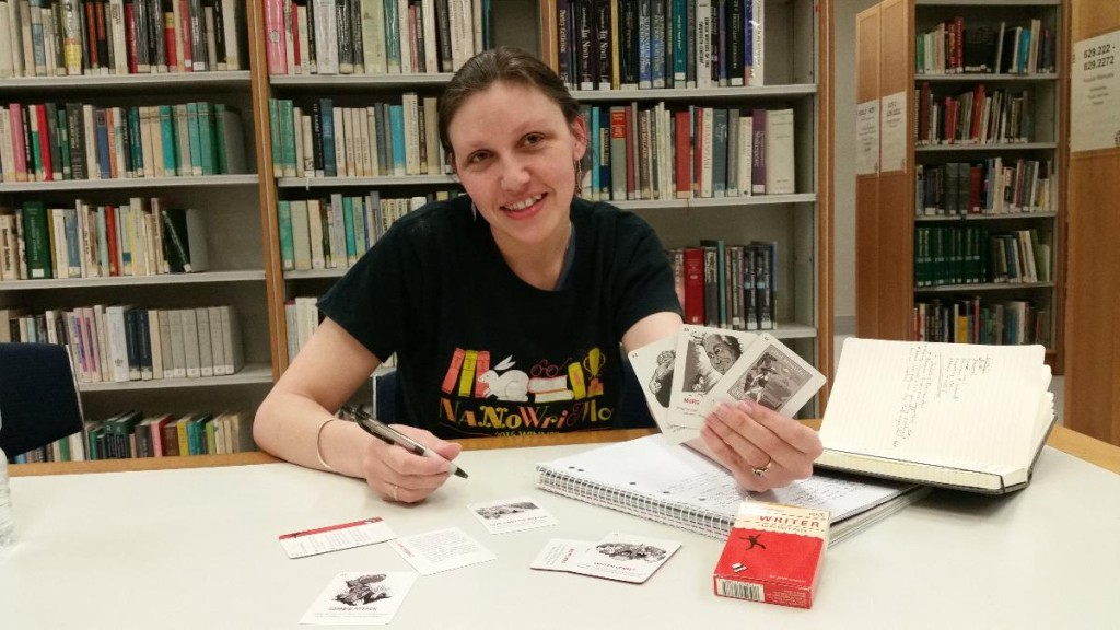 NaNoWriMo Municipal Liason officer Heather Bolton pulls out some handy tricks to help with writer's block.