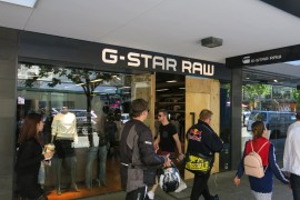 G-Star Raw Perth Ram Raid Part of a Continuing Trend