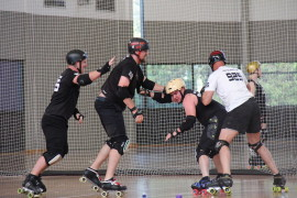 WA Men's Roller Derby team skate through to National Competition