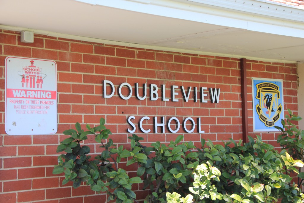 The Principal of Doubleview Primary, employed by the Education Department and ultimately powerless, has expressed frustration over plans in recent newsletters.  Photo: Jonathon Davidson
