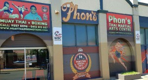 One of many new Muay Thai training gyms found in Perth