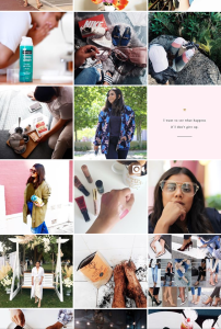Dynamique Blog's Instagram account has lots of fashion and lifestyle tips.