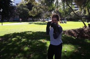 Claire Birch- Boxing coach at Young Boxing Women's Project