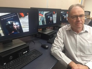 Copy-cat events: Associate Professor Chris Smyth says the need for sensitive issues to be talked about in the media.