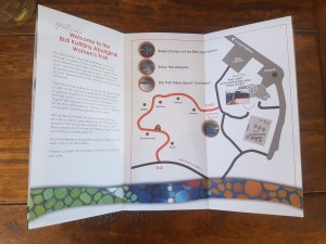 Piney Lakes Trail Map. In-touch-with-nature event for Mental Health week. Photo: Tiffany Bond