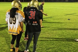 Gridiron women's league touches down in Perth
