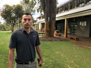 Mohammad Nazari, an electrical  engineering student at Murdoch University who spent 44 months in detention centres and suffering from depression and anxiety
