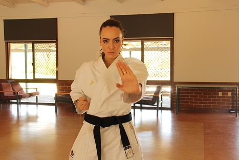 Karate Kata performer hopes to be next Western's Australian Olympic