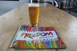 Freedom Ale named Pride's first  beer