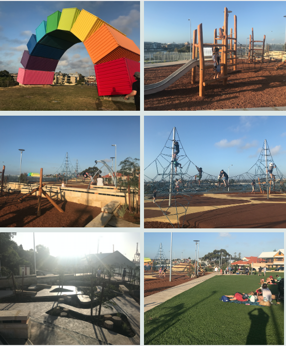 The new park features a nature-based playground, barbeques and picnic area.