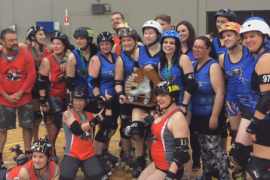 WA roller derby final hits fever pitch