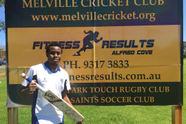 Long Journey to Australia to achieve cricket dream