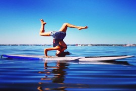Perth's first dedicated Stand Up Paddle Yoga