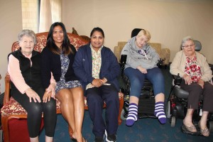 Residents enjoy the benefits of inter-generational playgroup