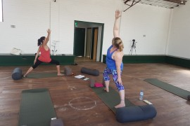 Veterans get physical with yoga