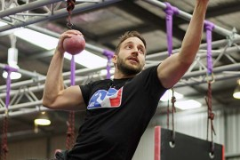 US Ninja Warrior star sets pace in Perth