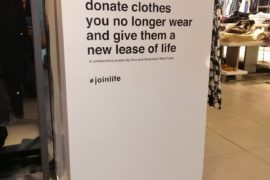 Clothing retail giants recycling to save the environment