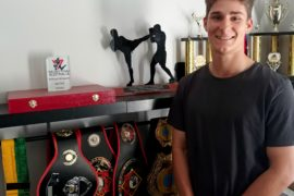 WA MUAY THAI TEEN BRINGS HOME GOLD