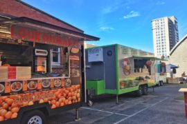 Perth's first permanent food truck park opens in the city