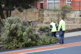Thousands without power as storm lashes WA coast